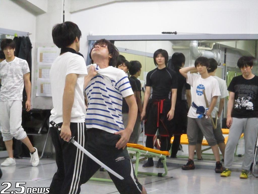 """イケメン戦国 THE STAGE~織田軍 VS """"海賊"""" 毛利元就編~ 」"""