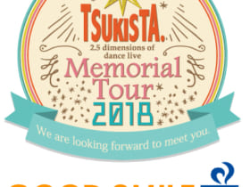 『TSUKISTA. Memorial Tour 2018』コラボカフェ