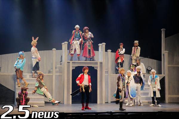 舞台「夢王国と眠れる100人の王子様 On Stage」