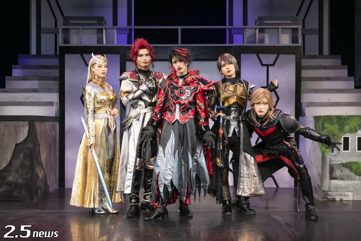 舞台『DARKNESS HEELS~THE LIVE~SHINKA』