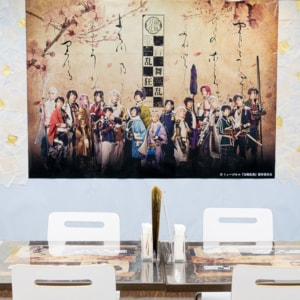 「ミュージカル『刀剣乱舞』 歌合 乱舞狂乱 2019」のコラボレーションカフェ