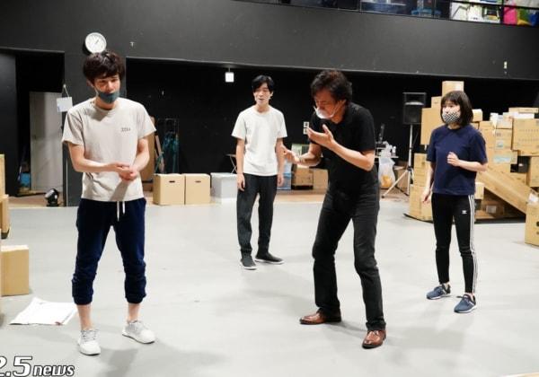 柿澤勇人、南沢奈央、須藤蓮、石井一孝4名の実力派キャストを迎えた舞台『ハルシオン・デイズ 2020』稽古場レポート到着!!