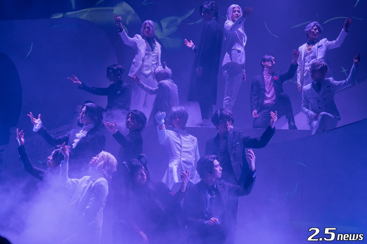 音楽劇「黒と白-purgatorium- ad libitum」