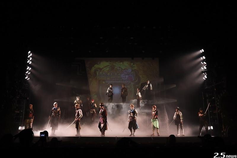 2.5次元ダンスライブ「S.Q.S」Episode6「キソセカイステージ:zwei『アカイホノオ』」