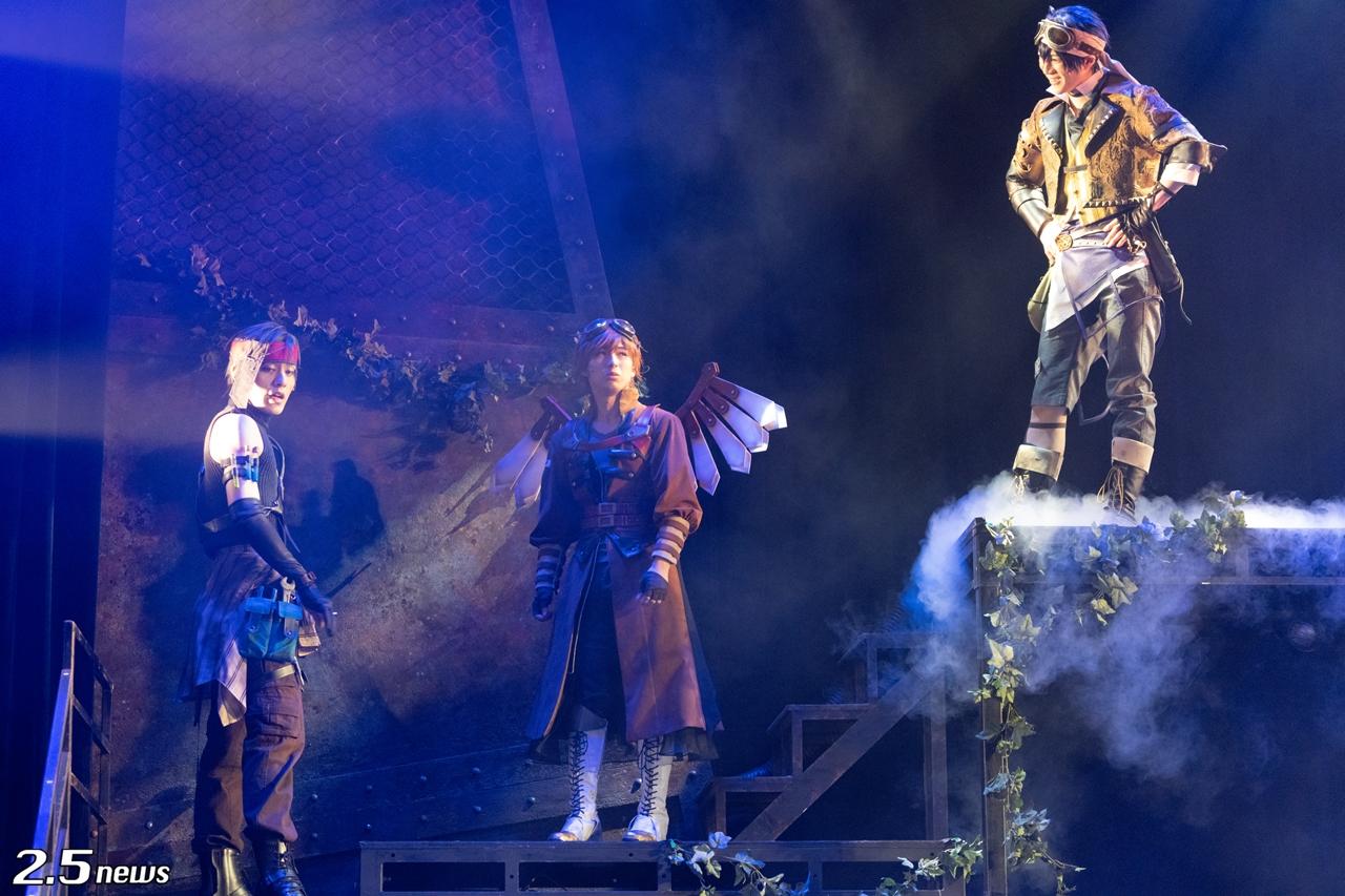 2.5次元ダンスライブ「S.Q.S」Episode6「キソセカイステージ:zwei『アカイホノオ』」◆Ver.BLUE◆