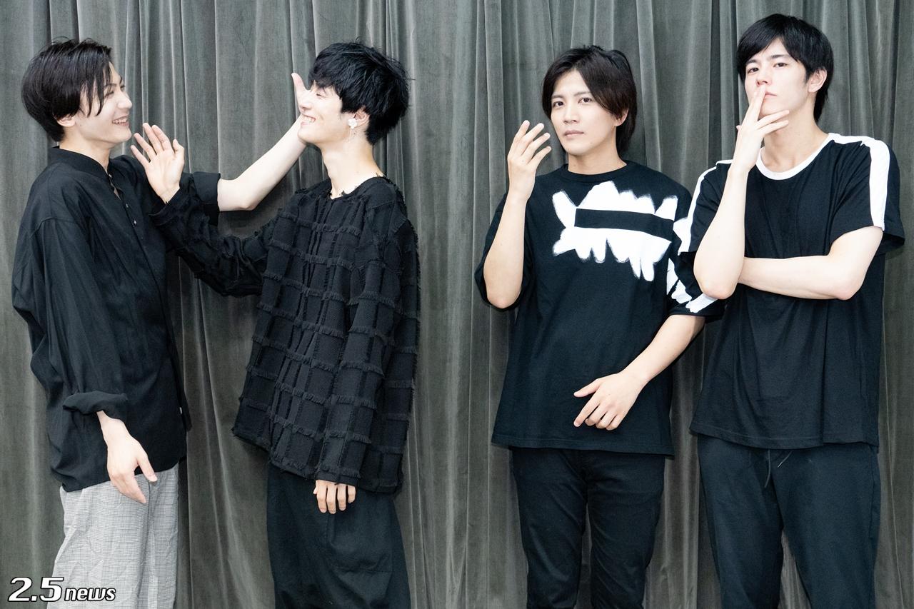 【インタビュー】音楽劇「黒と白 -purgatorium- amoroso」