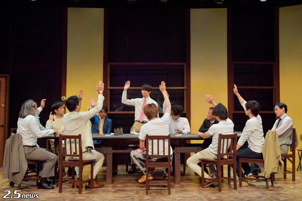 舞台『12人の怒れる男』