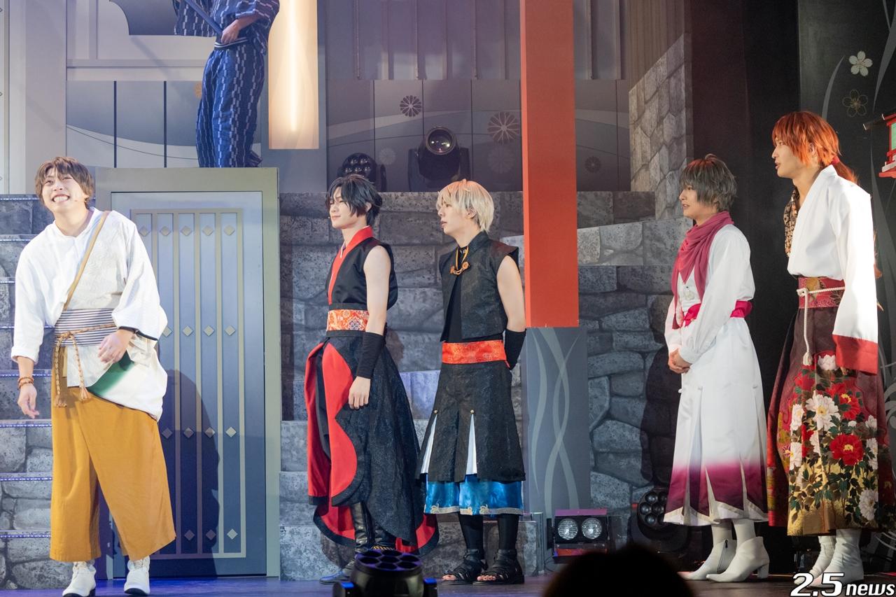 2.5次元ダンスライブ「ツキウタ。」ステージ第11幕『月花神楽~黒と白の物語~』◆月白の章◆